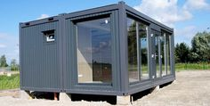 Manufacturing Leader of Container Offices Container Home Designs, Container Shop, Container Cabin, Container Gardening, Building A Container Home, Container Buildings, Container Architecture, Architecture Design, Shipping Container Office