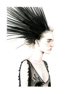 Clementine Deraedt for Louis Vuitton spring 2014 on Behance  Caroline Andrieu