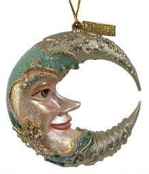 Celestial Moon Ornament