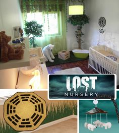 We have to go back! We have to go back to the nursery! | 20 DIY Pop Culture Themes For Your Baby's Nursery