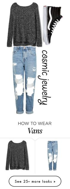"""Untitled #61"" by violetta-milcheva on Polyvore featuring Topshop, Gap and Vans"