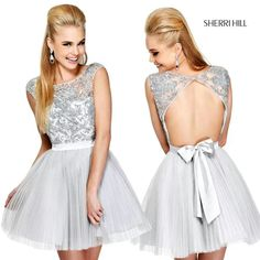 Grey beaded top with organza skirt