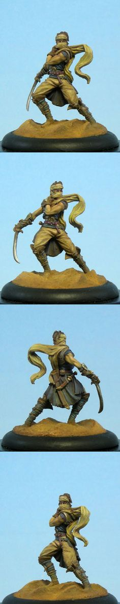 Male Assassin - Visions in Fantasy - Miniature Lines