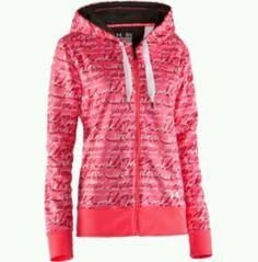 Underarmor breast cancer awareness hoodie