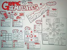 Some graphic template that I was pondering about for an up-coming facilitation session...