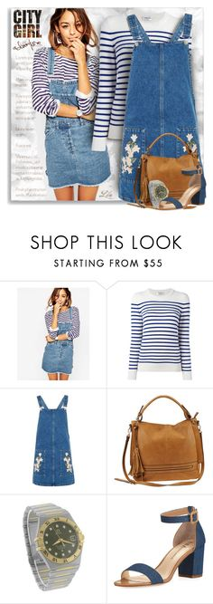 """""""Wardrobe staples"""" by breathing-style ❤ liked on Polyvore featuring ASOS, Yves Saint Laurent, Topshop, Urban Expressions, OMEGA and Neiman Marcus"""