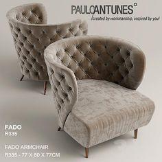 Кресло pauloantunes, FADO R335
