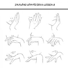 How to Draw Manga/Anime Hand positions, face, text; How to Draw Manga/Anime Hand Drawing Reference, Anatomy Reference, Art Reference Poses, Reference Images, Design Reference, Art Poses, Drawing Poses, Drawing Tips, Drawing Hands