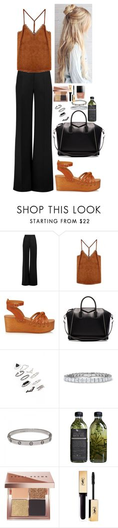 """Sin título #356"" by nare-861 ❤ liked on Polyvore featuring Roksanda, Isabel Marant, Givenchy, Topshop, Cartier, AMBRE and Bobbi Brown Cosmetics"