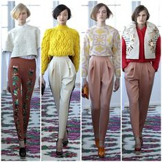 #NYFW Del Pozo Delpozo, All About Fashion, Office Wear, Catwalk, Parachute Pants, Cool Designs, Personal Style, That Look, Runway