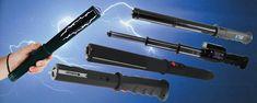 Stun batons, Free Stun Gun Defense Guide with every purchase. Nice.