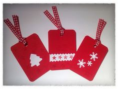 Stampin Up Tags Till Christmas, Joyous Celebrations, Pennant Parade, Handmade Xmas Tags