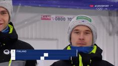 Finnish ski jumping team. I don't know what I was expecting.