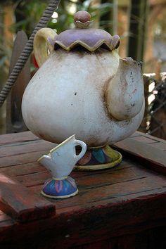 Tarzan Tea Service by StartedByAMouse, via Flickr