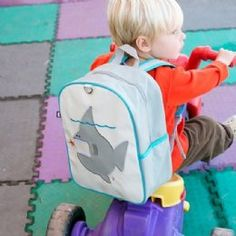 BEATRIX NY LITTLE KID BACKPACK | NIGEL SHARK