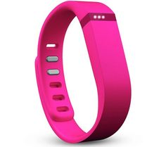Monitor your activity, sleep and general fitness with the versatile and easy Fitbit Flex. This bright pink wristband packs in a whole host of clever technology that helps you to accurately monitor your activity throughout the day and night.