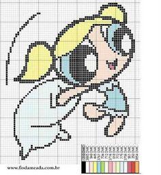 many Powerpuff Girls charts