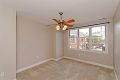 Master bedroom with views of Church Hill #rva