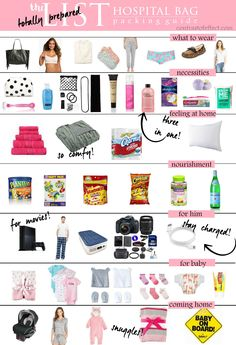 The Totally Prepared Hospital Bag Packing Guide for Soon To Be Moms