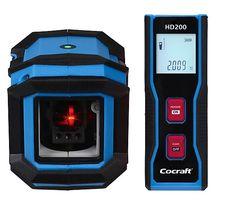 HL10-S krysslaser og HD200 avstandsmåler