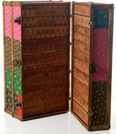 I'd love to get a steamer trunk. This one is from Free People.