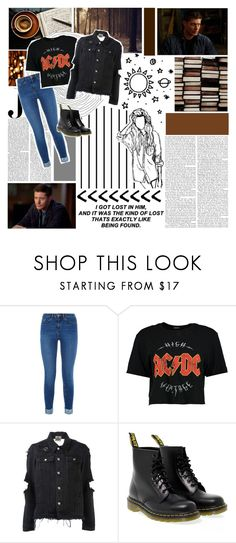 """""""✦✦//So you're still thinking of me, just like I know you should. I can not give you everything, you know I wish I could."""" by xo-nataliiee-xo ❤ liked on Polyvore featuring Forum, Vanity Fair, CoffeeShop, Boohoo, UNIF and Dr. Martens"""