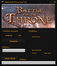 Battle of the Throne Hack Tool