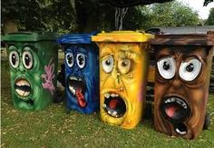 Trash can – street art – # trash can – Graffiti World 3d Street Art, Street Art Graffiti, Urban Street Art, Amazing Street Art, Urban Art, Banksy Graffiti, Graffiti Artists, Images Aléatoires, Painted Trash Cans