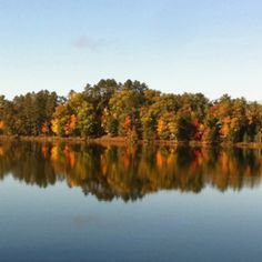 Minocqua, WI - this is the reason why I love fall.