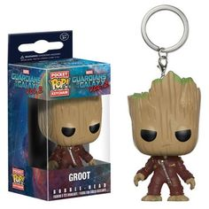 Bring the Guardians of the Galaxy all over the galaxy with you! From Guardians of the Galaxy Vol. 2 comes a pocket-sized Pop! figure of Baby Groot! Packaged in a window display box, this Guardians of