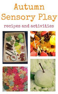 Great autumn sensory play recipes and activities