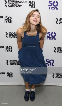Zoe Kazan attend the Meet & Greet for the Roundabout Theatre Company production of 'Love, Love, Love' at the Roundabout Theatre rehearsal studio on August 22, 2016 in New York City.