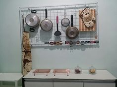 Hanging storage kitchen