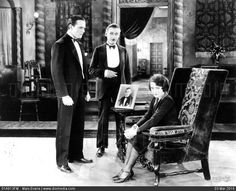 """William Haines, Lew Cody, Norma Shearer in """"A Slave of Fashion"""" (1925)"""