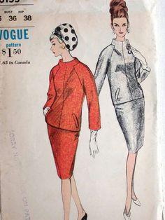 Vogue Dress Pattern No 6155 Vintage 1960s Size by CaliforniaSunset, $15.00