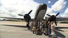 D-Day Veterans Reunited on 70th Anniversary for History Flight in Original C-47 Aircraft | #DDay70 #DDay #Normandy #History #WWII #WorldWar2 #veterans #aircraft #geneseo #newyork #nationalwarplanemuseum