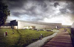 Vatne Arkitekter - Museum on Behance