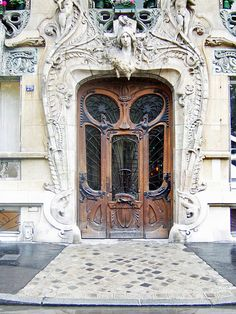 Paris Art Nouveau Entrance