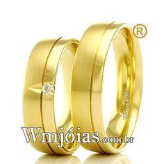 c23e81a3d0ae7 Aliança de noivado e casamento Alianças De Noivado, Alianças De Casamento,  Alianças De Ouro