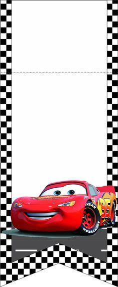 bandeirinhas kit festa infantil carros