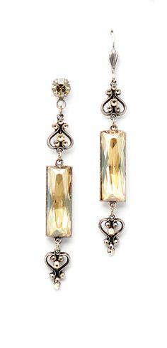 Anne Koplik Designs. ES 8496 CGS. $72.50. Made with Swarovski elements. Available at www.annekoplik.com.