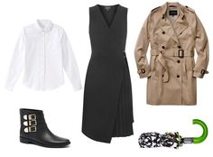 How to Master Spring Layers for Every Kind of Weather - Forecast: Rainy from #InStyle