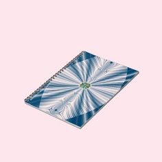 Blue Leaf Notebook