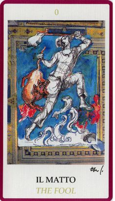 The Fool - Tarocchi di Dario Fo - rozamira tarot - Picasa Web Albums