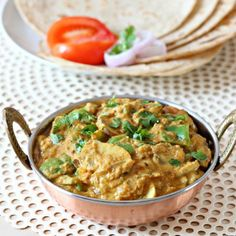An authentic Indian gravy generally served with Rotis and parathas.