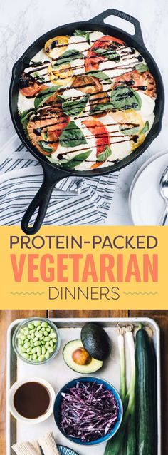 These Dinners All Have Tons Of Protein And No Meat