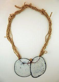 idea for encasing things in resin   .......Satomi Kawai