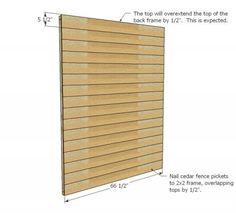 Small Cedar Fence Picket Storage Shed