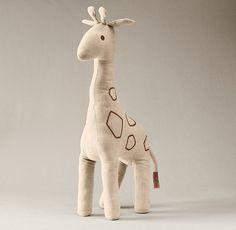 Chambray Giraffe