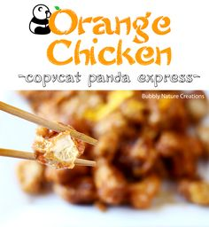 Orange Chicken (copycat Panda Express): The sauce is amazing and dead on. Coated previousl frozen then pressed tofu with corn starch and fried. Served over brown rice and sauteed mushroom/onion/bell. Next time I'll double the sauce and mix it with the veggies as well. SO GOOD! (Michelle's review)